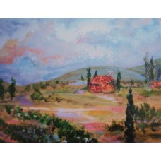 Tuscany Note Card