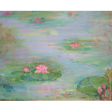 Water Lillies Note Cards